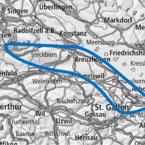 Gutschein Rundflug Bodensee