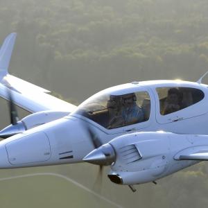Gutschein Schnupperflug zweimotoriges Flugzeug